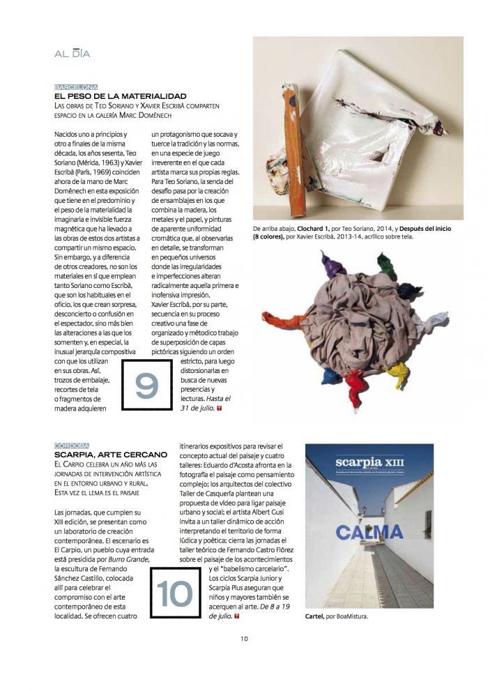 Descubrir el Arte, July 2014