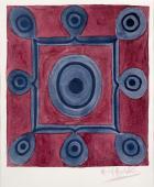 """M.Ángeles Ortiz, """"Composició"""", c.1930 aquarel·la i llapis sobre paper 38 x 29 cm."""