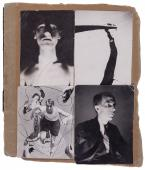 "Nicolás de Lekuona, ""Collage con cuatro fotografías"", c.1934 assembly of photographs on paper 15,5 x 13 cm. c/u."