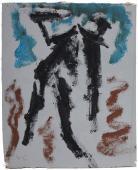 """Luis Claramunt, """"Sense t´tiol"""", c.1985 oli sobre tela 21 x 17,2 cm"""