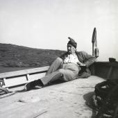 Jacques Léonard. Salvador Dalí. Port Lligat, 1957 © Jacques Leónard