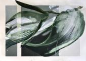 "Vicenç Viaplana, ""Solo Recording Sessions #1.4"", 2017 acrílic sobre paper serigrafiat 110 x 152 cm"
