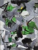 Esteban Vicente, 'Sin título', 1951 oli sobre tela 42 x 31 cm