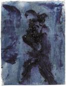 "Luis Claramunt, ""Sense títol"", 1985 oli sobre tela 16,5 x 12,5 cm"