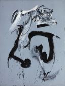 """Antonio Saura, """"Portrait de B. Bardot nº 5"""", 1959 oli sobre tela 130 x 97,2 cm"""