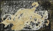 """Antoni Tàpies, """"Pintura grisa-verda"""", 1955 procedimiento mixto sobre tela 39 x 61 cm"""
