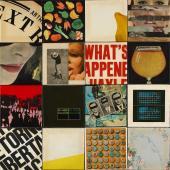 """Joan Rabascall, """"Sense títol"""", 1968 16 collages plastificats sobre tauler magnètic 98 x 98 cm"""