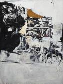 """Rafael Canogar, """"Pisas el umbral de la muerte"""", 1963 oli sobre tela 200 x 150 cm"""