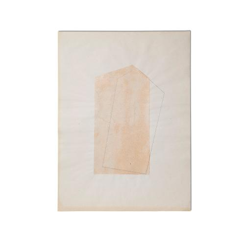 "Joan Furriols ""Untitled"", 1985 paper  50 x 36,2 cm"