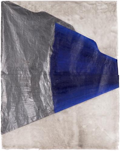 "Lluís Lleó, ""Godarti"", 2015, oil, graphite and ink on Mitsumata Thin paper 101,8 x 81 cm"