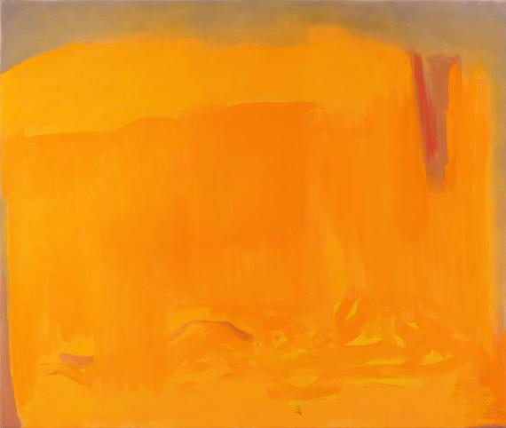 Esteban Vicente, 'Autumn', 1993 oil on canvas 106,7 x 127 cm