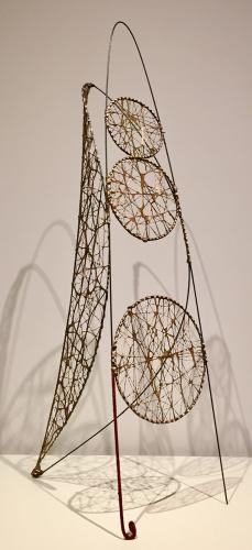 "Moisès Villèlia, ""Untitled"", 1963 wire 93 cm"